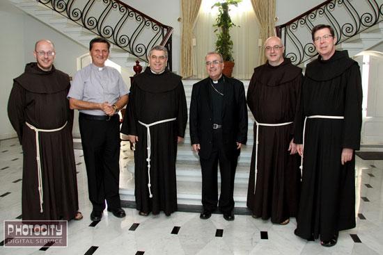 Archbishop-meets-MG-Franciscan-Friars2